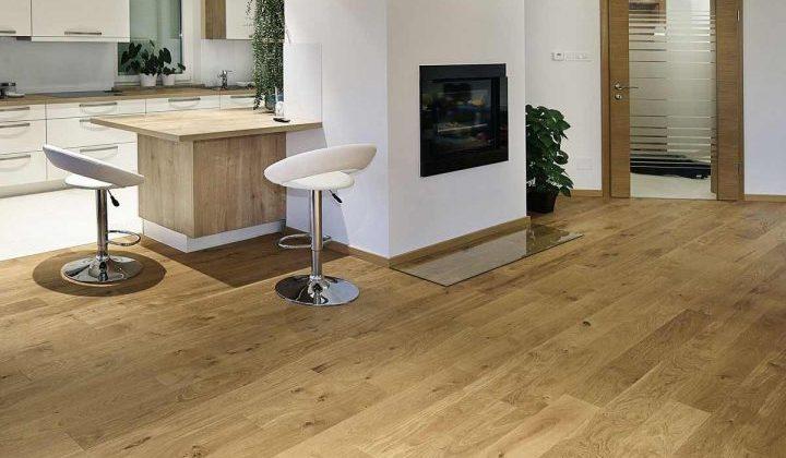 dubová designová laminátová podlaha