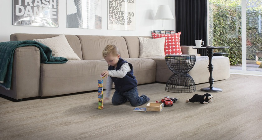Voděodolné vinylové podlahové krytiny Pure