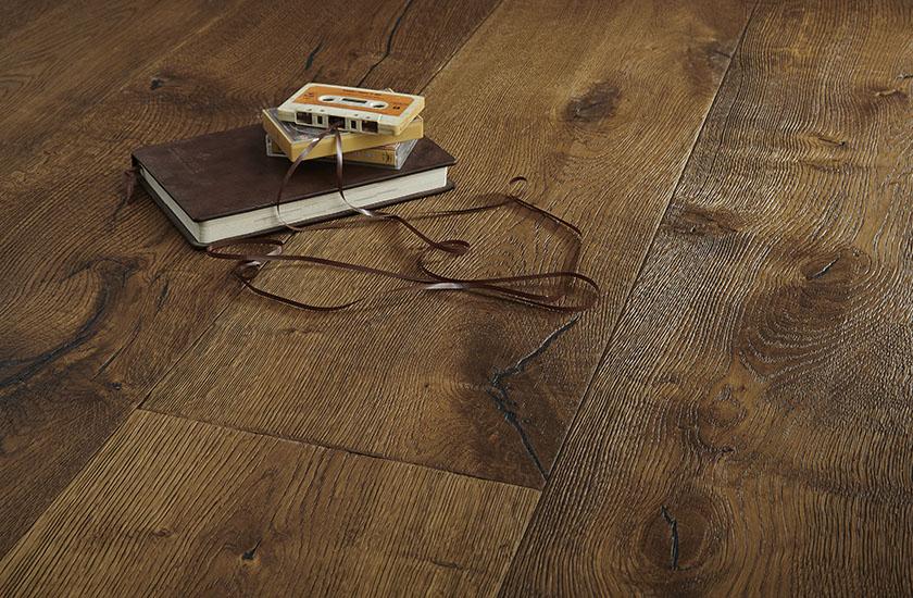 Olejované dřevěné podlahy Martinique