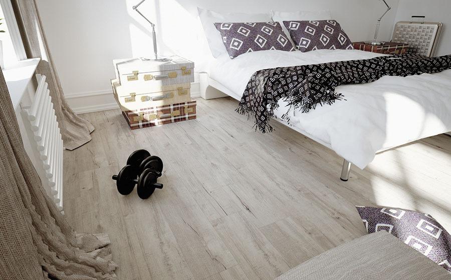 Vinylová podlaha - ložnice